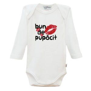 Body cu inscriptie bebe bun de pupacit