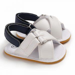 sandale bebelusi antiderapante cu scai