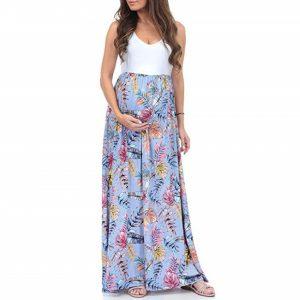 rochie lunga pentru gravide