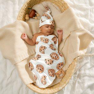 Set paturica de infasat pentru bebelusi