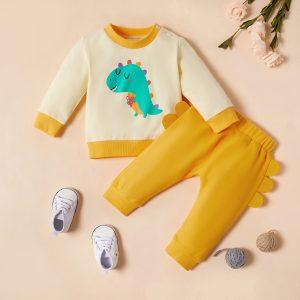 set nou nscuti bebelusi format din bluza si pantaloni lungi