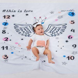 Patura Ingeras pentru sedintele foto cu bebelusi