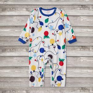 Pijama Merry Christmas Body pentru Bebe