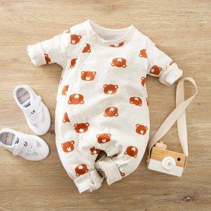 Salopeta Ursulet pentru bebe